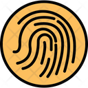 Biometric Fingerprint Reader Fingerprint Scanner Icon