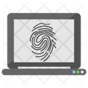 Biometric Verification Thumbprint Authorization Icon