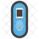 Biometric Thumb Scanning Thumb Recognition Icon
