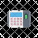 Biometric Attendance Machine Icon