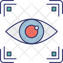 Biometric Access Biometric Eye Identification Biometry Icon