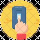 Biometric Attendance Biometric Fingerprint Fingerprint Authentication Icon