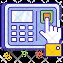 Biometric Attendance Icon