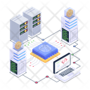 Biometrics Network Biometric Blockchain Technology Biometric Technology Icon