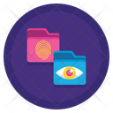Biometric Data Biometric Eye Icon