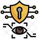 Biometric Data Security Eye Recognition Security Icon