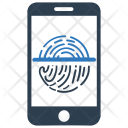 Biometric identification Icon