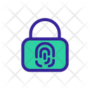 Biometric Lock Icon
