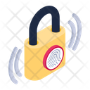 Fingerprint Sensor Finger Authentication Biometric Fingerprint Icon