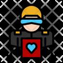 Biometric Recognition Icon