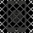 Biometric scan Icon