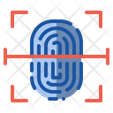 Fingerprint Security Authentication Icon