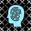 Biometric Scan Fingerprint Finger Icon