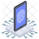 Biometric Security Icon