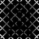 Biometric Security Icon