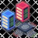 Biometric Security Technology Biometric Servers Biometric Storage Icon