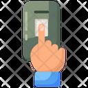 Biometric Attendance Biometric Authentication Biometric Identification Icon