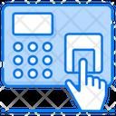 Biometric Technology Fingerprint Scanner Thumb Scanner Icon