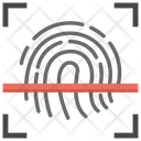 Biometric Technology Access Control Biometric Fingerprint Icon