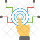 Biometric Technology Access Icon