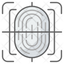 Biometrics Fingerprint Scanner Scanner Icon