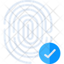 Biometrics Verification Icon