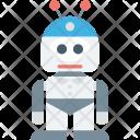 Bionic Robot Mechanical Icon