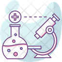 Biotech Flask Lab Icon
