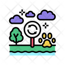 Biotope Ecosystem Environment Icon
