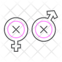 Biphobia Lgbt Discrimination Icon