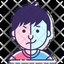 Bipolar Split Personality Disorder Icon