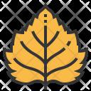Birch Leaf Greenery Icon