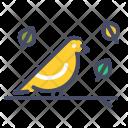 Bird Autumn Season Icon