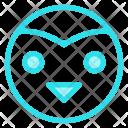 Bird Owl Decoration Icon