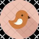Bird Fly Snow Icon