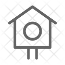 Bird House Nest Icon