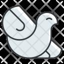 Bird Peace Icon