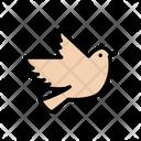 Bird Love Sparrow Icon