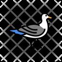 Bird Ocean Underwater Icon