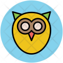 Bird Owl Knowledge Icon