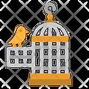 Cage Bird House Icon