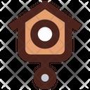 Bird Clock Icon