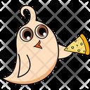 Bird Eat Pizza Icon