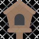 Birdhouse Tree Buds Icon