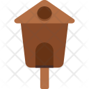 Wooden Hut Home Icon