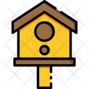 Bird House Tree House Home Icon