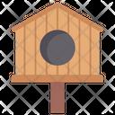 Birdhouse Nest Box Bird Cage Icon