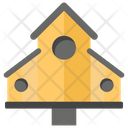 Birdhouse Treehouse Pet House Icon