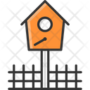 M Bird House Icon