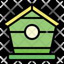 Bird House Farm Agriculture Icon